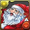 성탄절의 사자 산타클로스