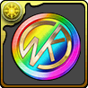 근육맨 이벤트 메달(무지개)